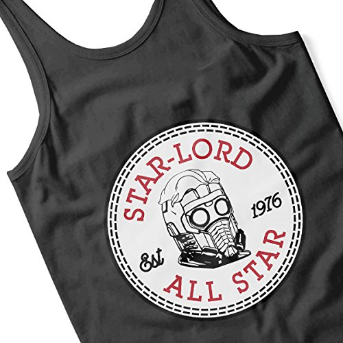 Guardians Of The Galaxy Star Lord All Star Converse Men's Vest Black