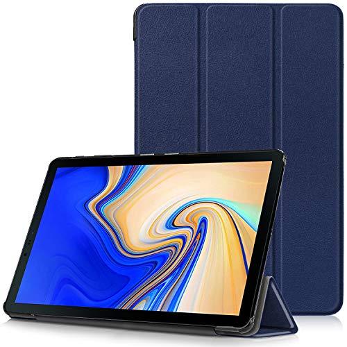 Samsung Galaxy Tab S4 10.5 Cover - Custodia Ultra Sottile e Leggero con Coperture da Supporto e Funzione Auto Sveglia/Sonno per Samsung Galaxy Tab S4 SM-T830 / T835 Tablet da 10.5', Indaco