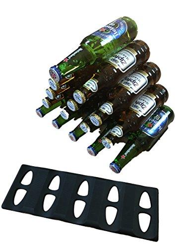 Dosen-Turm Flaschen stapeln - Stapel Matte / Stapel Hilfe - Aufbewahren & Ordnen im Kühlschrank, Bar, Küche - auf Party - Küchenhelfer Limonade Alkohol Bier - Partyzubehör 1 oder 2 Stück (2)