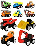 FunBlast Pull Back Vehicles Toy Cars Playset | Construction Mini Power Friction Trucks