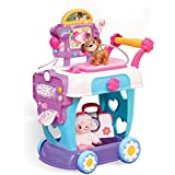Disney Junior – Docteur La Peluche – Toy Hospital Care Cart – Chariot + 1 Figurine