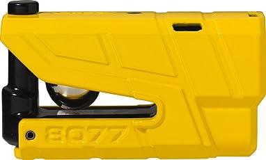 ABUS 78611 –2Bremsscheibenschloss Alarm Moto SRA, Gelb