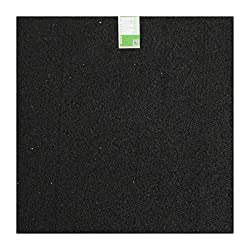 acerto 31153 Antivibrationsmatte - Gummigranulat - 60x60x2cm - Fallschutz - Kofferraumschutz - Kratzschutz - Unterlage