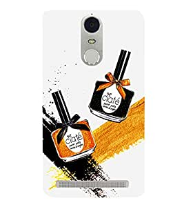 Make up Bottles 3D Hard Polycarbonate Designer Back Case Cover for Lenovo K5 Note :: Lenovo Vibe K5 Note Pro