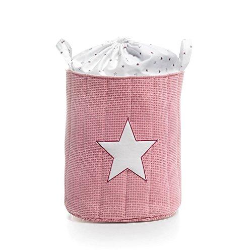 Alondra Rose 619-182 - Saco de textil acolchado para juguetes, color rosa