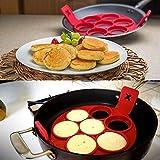 - Stampi per Omelet/Pancake in silicone 100% alimentare, utensili da cucina, 1 pezzo