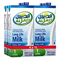 Al Safi Long Life Milk Full Fat 4 X 1 LT