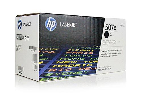 HP Original CE400X / 507X, für Laserjet Pro 500 Color MFP M 570 DN Premium Drucker-Kartusche, Schwarz, 11000 Seiten - M551n-drucker Laserjet Hp Color