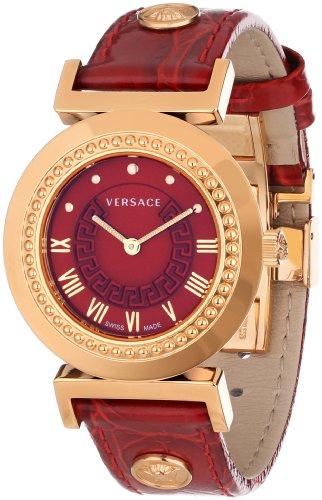 Versace P5Q80D800S800 - Reloj de Pulsera Mujer, Color Rojo