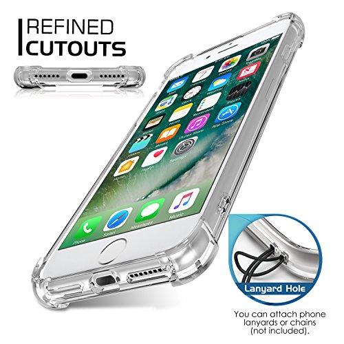 MoKo iPhone 8 Plus / iPhone 7 Plus Coque - [Résistant Aux Rayures] [Anti goutte & rayure] Etui Housse Series Halo Hybride avec TPU Pare-Chocs pour Apple iPhone 8 Plus / iPhone 7 Plus, Rose Clair Poissons