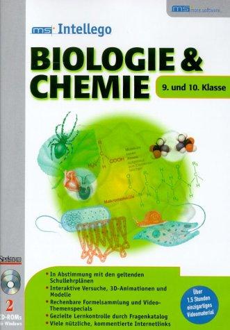 ms Intellego Biologie und Chemie. Klasse 9 - 10. 2 CD- ROMs für Windows 95/98/ ME