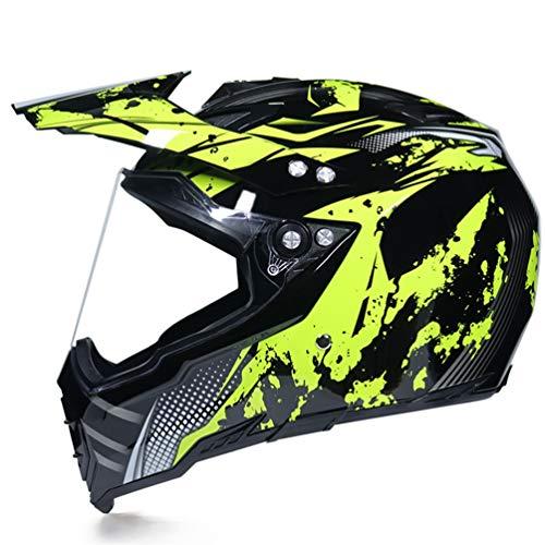 Uomini donne Motocross Caschi traspirante ad alte prestazioni Softscratch resistenti adolescenti Off Road colorato casco protettivo anti crash downhill adulto casco 55-62cm