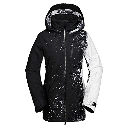 Volcom Colt Gore-Tex Jkt, Color: Black White, Size: XS