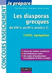Les diasporas grecques - du VIIIe s. au IIIe s. avant J.-C. - Capes, Agrégation