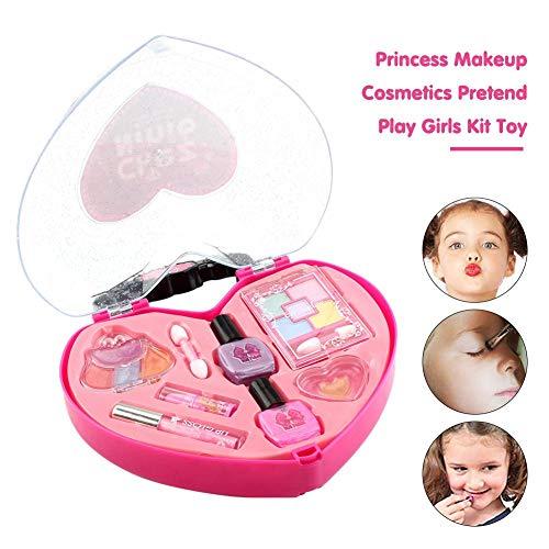 Kinder waschbar Make-up Spielzeug Set - wasserlöslich Kinder Make-up-Kit kleine Prinzessin...