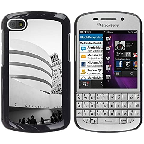 Etui Housse Coque de Protection Cover Rigide pour // M00169415 Museo de Arte Moderno de Nueva York // BlackBerry