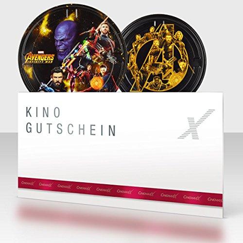 CinemaxX Avengers Infinity War Filmdose Single mit 1 Kinogutschein