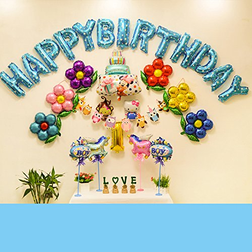 Stylehome Decoraciones Cumpleaños Feliz Suministros