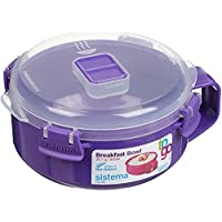 Sistema To Go Breakfast Bowl, 850 ml - Assorted Colours