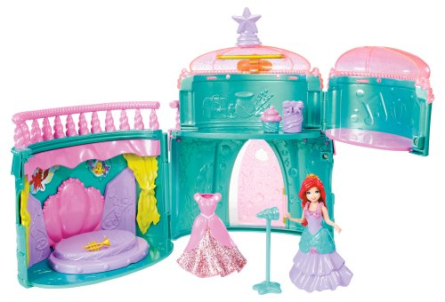 Mattel Disney Princess Royal Party Ariel Palace Spielset (Princess Royal Party)