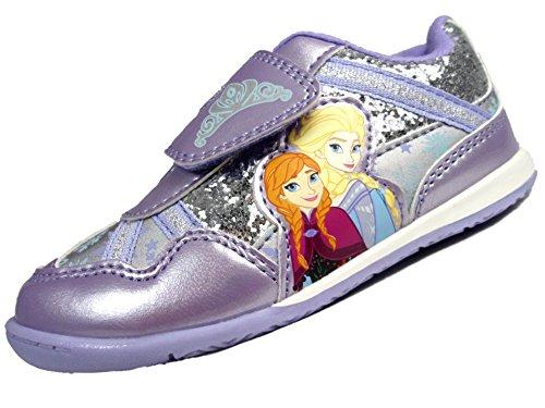 Disney - Zapatillas de Material Sintético para niña Morado morado