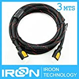 Generic 3MTS 3M 3 meters High Quality Professional v1.4 HDMI Cable 1080P Video