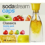 SodaStream Caps Classics Flavour Variety Pack (Pack of 8 x 48 ml)