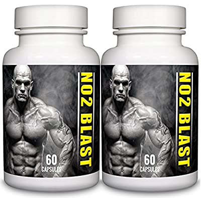 L-Arginine 550mg 120 Capsules NO2 Blast Pharmaceutical Grade Essential Amino Acid from Natural Answers