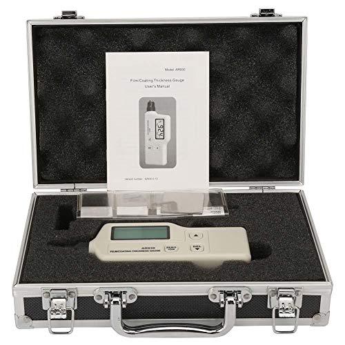 Digitales Schichtdickenmessgerät, Mini-Kit für das Schichtdickenmessgerät AR930 aus lackiertem Metall, LCD-Display, Messbereich 0~1800um