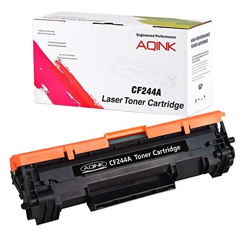 AQINK - Cartucho de tóner Compatible HP CF244A 44A para Impresora HP Laserjet Pro M15a M15w M16a M16w MFP M28a M28w M29a M29w