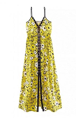 Kleid, gelb-bunt von Michael Kors Grösse XXS