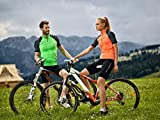 Brubeck Herren 1/2 Fahrradhose Radhose gepolstert, Profiqualität, schwarz (Fit-Activity, Funktionshose, Radsport, Spinning, Bikinghose, Fitnesscenter, Fitnesstrainer, ohne Träger) XL - 5