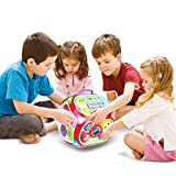 Enlarge toy image: Miric Baby Activity Cube Center House, 7 in 1 Electronic Baby Learning Educational Toys Musical Toys for Kids of 1-3 Years Old