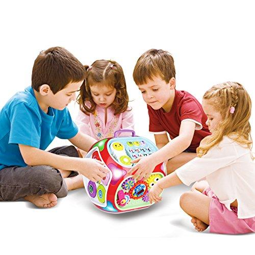 Miric Cubo de actividades para bebés Juguetes educativos 7 en 1 del Musical para Niños de 1 3 Años