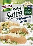 Knorr Fix Richtig Saftig Schlemmer Lachs mit Ofenbeutel 28g Beutel, 6er Pack (6 x 28 g)