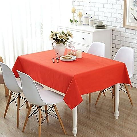Tissu de table en toile de style japonais/tissu de table de café/thé de pastorale/serviette de couverture multi-use de tissu-C 145x145cm(57x57inch)