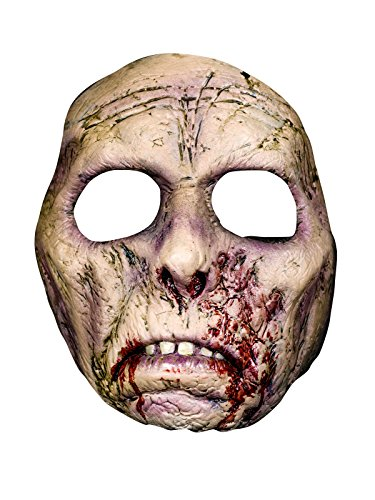 Bruce Spaulding Fuller Narben Zombie Latex Maske Lizenzartikel grau (Zombie Maske Fuller)