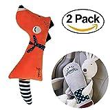 Auto-Sicherheitsgurt-Schulterpolster Cartoon-Sicherheitsgurtabdeckungen Sicherheitsgurtabdeckung Kopf-Hals-Unterstützung Für Kinder Und Erwachsene (2Er Pack)