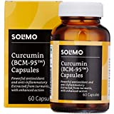 Amazon Brand - Solimo Turmeric 500mg -  60 Veg Capsules (Curcumin with BCM-95)