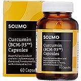 Amazon Brand - Solimo Turmeric 500mg - 60 Veg Capsules (Curcumin with BCM-95)