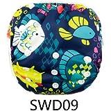 Eco Green Baby - Position Printed Swim Diaper - Fish
