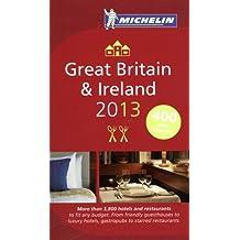 Guide Michelin Grande Bretagne Irlande 2013