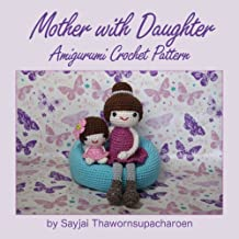 Mother with Daughter Amigurumi Crochet Pattern (English Edition)