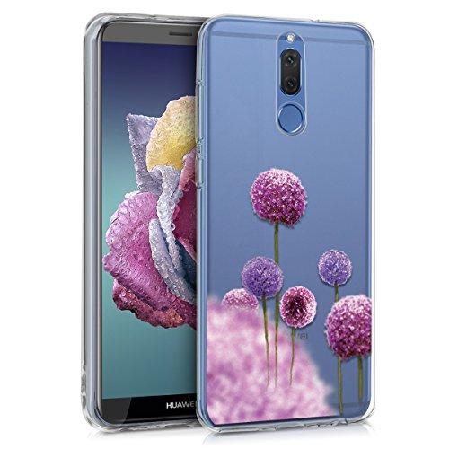 kwmobile Huawei Mate 10 Lite Hülle - Handyhülle für Huawei Mate 10 Lite - Handy Case in Pink Violett Transparent