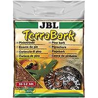 JBL Sustrato de suelo para terrarios de bosque y selva tropical, corteza de pino, TerraBark