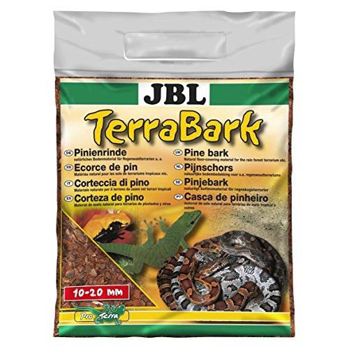 JBL 71020 Bodensubstrat, für Wald und Regenwaldterrarien, Pinienrinde, 10 - 20 mm, TerraBark, 5 l