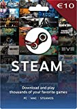 Steam Gift Card 10 EUR (EU Account Only)...