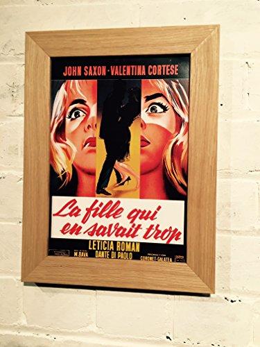 Vintage Französisch Reproduktion Film Poster A4in Wahl von 3Frames aus der 1963Film