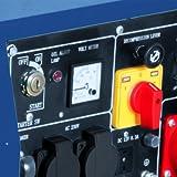 Einhell Diesel Stromerzeuger BT-PG 5000 DD (Drehstrom, 4200 W Dauerleistung, 6,3 kW, 418 cm³ Hubraum, 16 l Tank, 2×230 V/1×400 V/1×12 V Steckdose) - 2