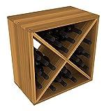 Wine Racks America Redwood 24 Bottle Win...